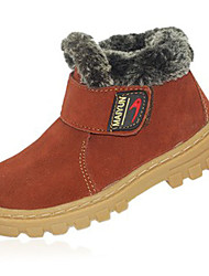 Boy's Oxfords Fall / Winter Others Fleece Outdoor / Athletic / Casual Flat Heel Others Black / Brown / Green / Red / CoffeeWalking /
