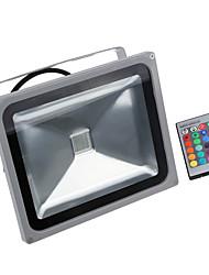30w водонепроницаемый RGB LED прожектор 16 различных цветовых тонов с функцией памяти& Пульт дистанционного управления для наружного