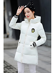 Sign 2016 winter new Korean hooded patch long section down padded coat thicker female students