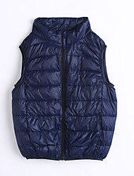 Unisex Casual/Daily Solid Vest,Cotton Winter / Fall Sleeveless