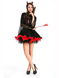 Wizard/Witch Festival/Holiday Costumes Dress / Headwear Female Polyester