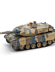 Tank 1:24 RC Car Camouflage Ready-To-Go Tank / Remote Controller/Transmitter / Battery Charger / Battery For Car