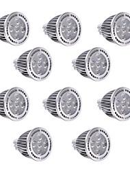 5W GU5.3(MR16) Lâmpadas de Foco de LED MR16 5 SMD 3030 450-500 lm Branco Quente / Branco Frio Regulável / Decorativa DC 12 / AC 12 V10