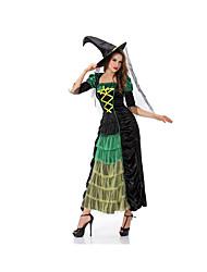Fest/Feiertage Halloween Kostüme Schwarz einfarbig Rock / Hosen / Mützen Halloween / Weihnachten / Karneval Frau