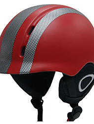 Helmet Unisex Sports Sports Helmet Red / Black Snow Helmet EPS / ABS Snow Sports