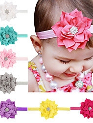 13Pcs/set Baby Girls Lotus Flower Headband Todder Hair Accessories Infant Hairband