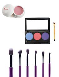 4 Blush+Sombra para OlhosPincéis de Maquiagem Molhado Olhos / Rosto Longa Duração / Corretivo / Peles com Manchas / Natural China Outro
