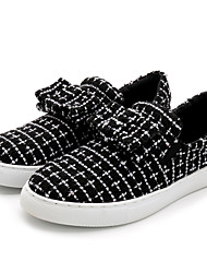 Women's Loafers & Slip-Ons Comfort Fabric Casual Black
