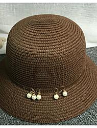 Chapeau de Paille Automne Décontracté Paillette Femme