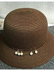 Women Straw Straw Hat,Casual Fall