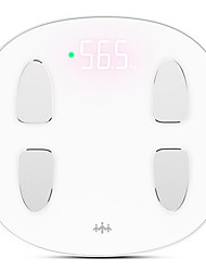 Life sense Weight Scale S5 WIFI Smart Connected Body Fat Scale with Large Screen Led (Write)