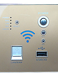 86-Type Wall Panel Switch With Usb Wireless Wifi Socket Switch