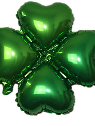 Balloons Heart-Shaped Aluminium Green For Boys / For Girls 5 to 7 Years / 8 to 13 Years / 14 Years & Up