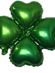Balões Forma de Coração alumínio Verde Para Meninos / Para Meninas 5 a 7 Anos / 8 a 13 Anos / 14 Anos ou Mais