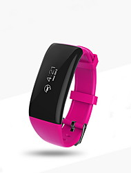 Smart BraceletWater Resistant / Water Proof Long Standby Pedometers Health Care Sports Heart Rate Monitor Touch Screen Information Sleep