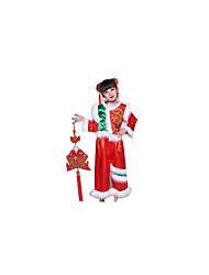 Costumes de Cosplay Ethnique et Religieux Fête / Célébration Déguisement Halloween Rouge / Rouge & blanc Couleur PleineHaut / Pantalon /