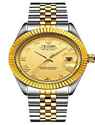 Tevise Men's Women's Couple's Fashion Watch Mechanical Watch Calendar Water Resistant / Water Proof Luminous Swiss DesignerAutomatic