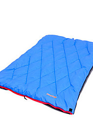 Sleeping Bag Double Wide Bag Double 10 Hollow Cotton 400g 180X30 Hiking / Camping / Traveling / Outdoor / IndoorMoistureproof/Moisture