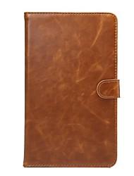 genuína padrão de couro caso da carteira de alta qualidade para 8 polegadas media Huawei pad m2 (m2-803l)