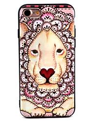 Pour Motif Coque Coque Arrière Coque Animal Flexible TPU pour Apple iPhone 7 Plus / iPhone 7 / iPhone 6s Plus/6 Plus / iPhone 6s/6