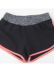 Women's Running Pants/Trousers/Overtrousers Shorts Breathable Comfortable Yoga Leisure Sports Running Chinlon SlimOutdoor clothing