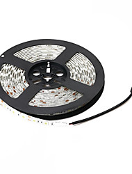 z®zdm impermeável (12v 5m / dc) 72W 3000lm 300 SMD 5050 LED tira branco morno / branco luz