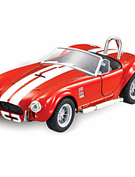 Educational Toy Model & Building Toy Car Metal Red For Boys / For Girls