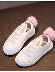Girl's Sneakers Others Leatherette Outdoor Pink White