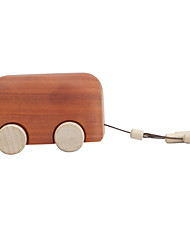 Music Box Castle in the Sky Creative Wood Brown For Boys / For Girls