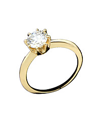 Ring Alloy Luxury Jewelry Silver Golden Jewelry Casual 1pc