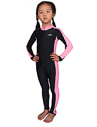 Kid's Girls' Boys' 1mm Dive Skins Wetsuit Skin Full Wetsuit Ultraviolet Resistant Chinlon Diving Suit Long Sleeve Diving Suits Rash guard-