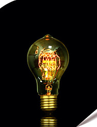 e27 a19 40w bulbo edison de filamento de tungsténio 60