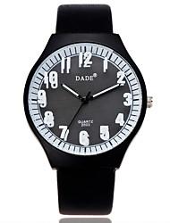 Damen Modeuhr Armbanduhr Quartz / PU Band Cool Bequem Schwarz Weiß Blau Rose Weiß Schwarz Dunkelblau Rose Hellblau