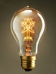 a19 pentagrama lâmpadas 220v-240v 40w edison tradicionais europeus e americanos de café do vintage lâmpadas