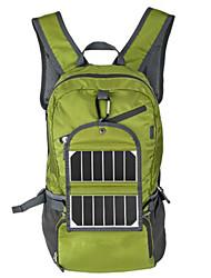 30L L sac à dos Sac à Dos de Randonnée Randonnée pack Camping & Randonnée Escalade Extérieur Panneau Solaire Olive Nylon BY