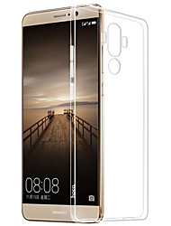 Pour Transparente Coque Coque Arrière Coque Couleur Pleine Flexible PUT pour HuaweiHuawei P9 Huawei P9 Lite Huawei P9 plus Huawei P8