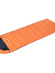 Camping Polster Schlafpolster Rechteckiger Schlafsack Einzelbett(150 x 200 cm) 10-15 T/C Baumwolle Enten Qualitätsdaune 600g 75*190X75
