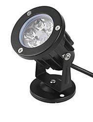 5w bouchon lumière conduit lampe de pelouse conduit projecteurs