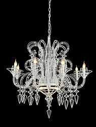 Art Chandelier  Modern/Contemporary Anodized Feature for Designers Metal Dining Room / Kids Room / Entry / Hallway