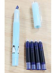 Kugelschreiber Stift Füllfederhalter Stift,Metall Fass Blau Tintenfarben For School Supplies Bürobedarf Packung