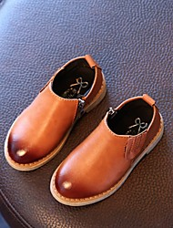 Boys' Boots Spring Fall Winter Comfort PU Casual Flat Heel