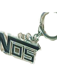 Key Chain Square Key Chain Black Metal