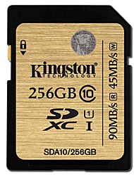 Kingston 256GB carte SD carte mémoire UHS-I U1 Class10