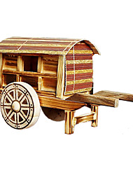 Display Model / Toys Model & Building Toy Carriage Wood Beige / Khaki For Boys / For Girls 5 to 7 Years / 8 to 13 Years / 14 Years & Up
