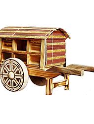 Modelo de Apresentação Brinquedos Modelo e Blocos de Construção Carruagem Madeira Bege Cáqui Para Meninos Para Meninas5 a 7 Anos 8 a 13