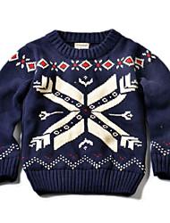 Unisex School Solid Sweater & Cardigan,Knitwear Winter Fall Long Sleeve Regular