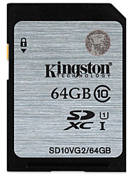 Kingston 64Go carte SD carte mémoire UHS-I U1 Class10