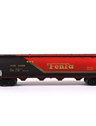 Track Rail Car Novelty Toy Toys Novelty Brown Plastic