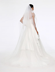 Wedding Veil Two-tier Chapel Veils Tulle