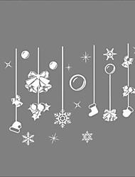 Window Stickers Window Decals Style New Christmas Gifts Window Glass Decoration PVC Window stickers